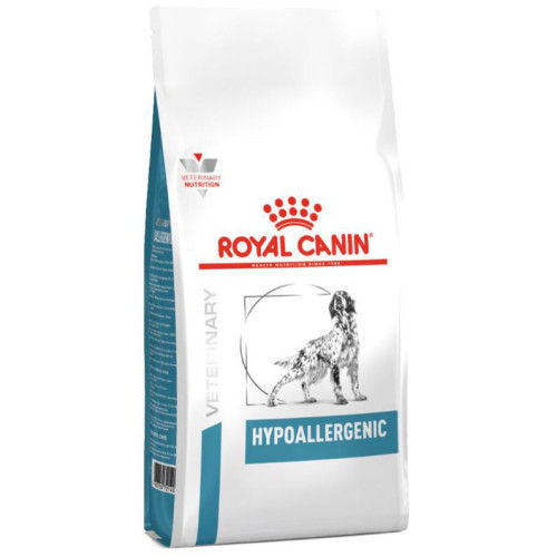 Royal Canin Veterinary Hypoallergenic Moderate Calorie Dry Dog Food 14kg x 2