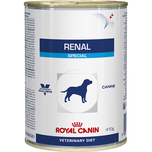 Royal Canin Veterinary Renal Special Dog Food Cans 410g x 12