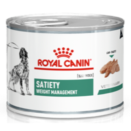 Royal Canin Veterinary Satiety Weight Management Wet Dog Food 195g x 12