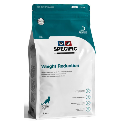 SPECIFIC FRD Weight Reduction Adult Cat Food 1.6kg