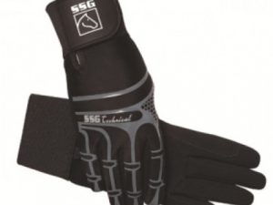 SSG Technical with Wrist Support Riding Gloves Size 7