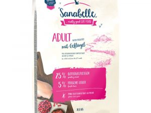 Ostrich Adult Sanabelle Dry Cat Food