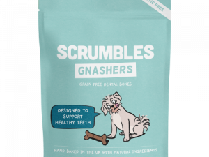 Scrumbles Gnashers Daily Dental Bones for Dogs 150g