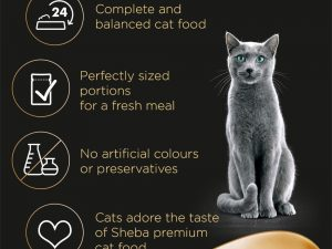 Mixed Collection Mini Fresh Choice Pouches ShebaWet Cat Food