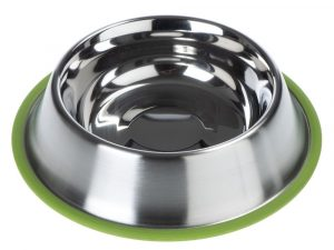Silver Line Stainless Steel Bowl - Green - 0.45 litre