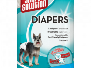 Simple Solution Disposable Dog Diapers Medium - 12 Pack
