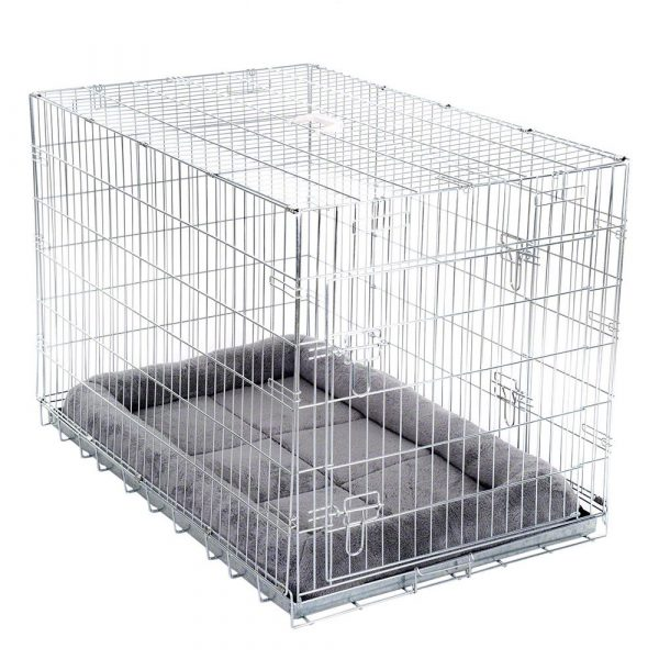Small Double Door Transport Cage with Cushion