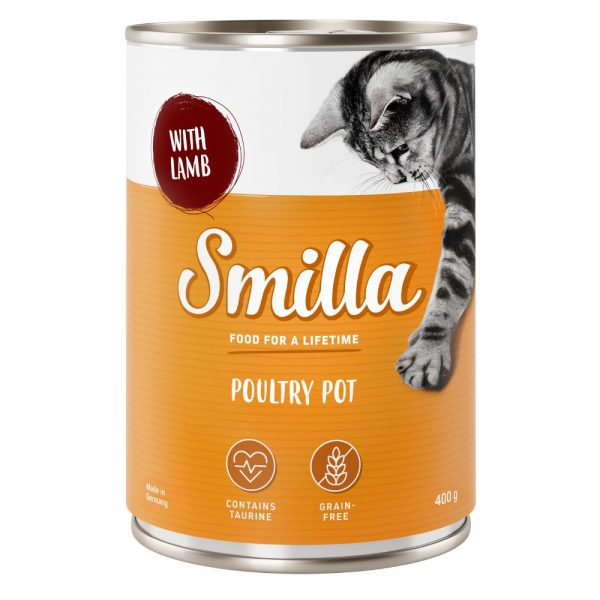 Smilla Poultry Mixed Trial Pack 5 Wet Cat Food