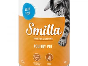 Tender Poultry with Fish Smilla Wet Cat Food
