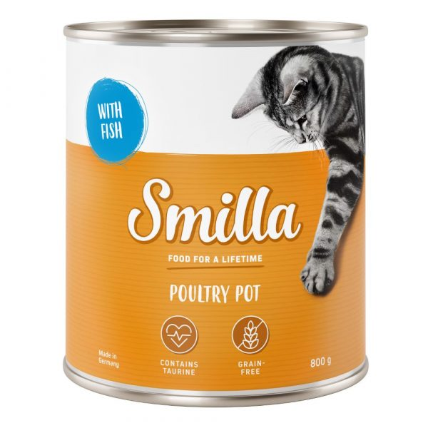 Smilla Variety Pack Tender Poultry Wet Cat Food