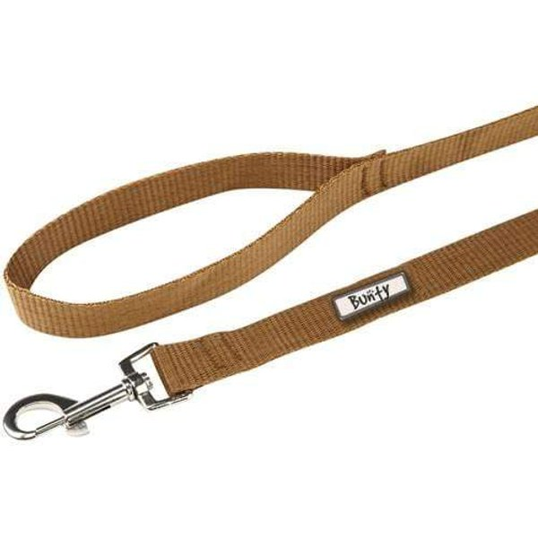 Strong Nylon Dog Pet Lead Harness Brown