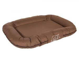 Strong and Soft Dog Cushion, approx. 138 x 110 x 15cm (L x W x H), brown