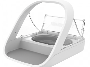 SureFeed Microchip Cat Feeder with Bowls Mat & RFID Tag Microchip Feeder