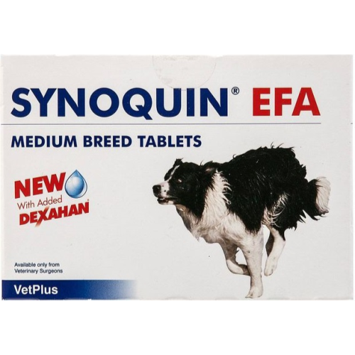 Synoquin EFA Joint Supplement Medium Breed Tablets x 30