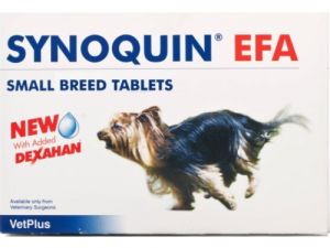 Synoquin EFA Joint Supplement Small Breed Tablets x 30