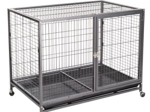 Tabby Indoor Dog Cage, Size L: 109.5x70x87.5cm (LxWxH)