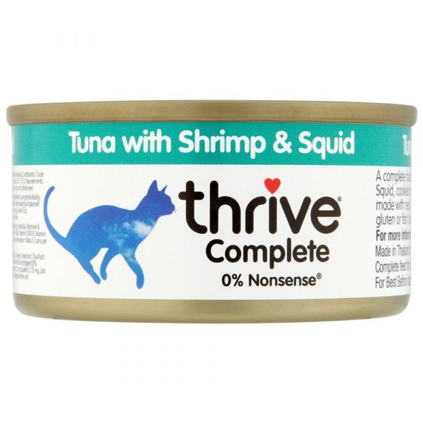 Thrive Complete Tuna with Shrimp & Squid Wet Cat Food