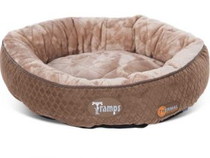 Tramps Thermal Ring Self Heating Cat Bed Chocolate