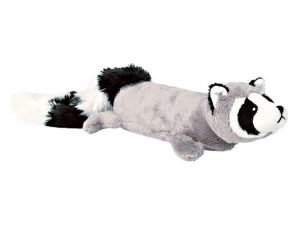 Trixie Plush Raccoon with Power Squeaker