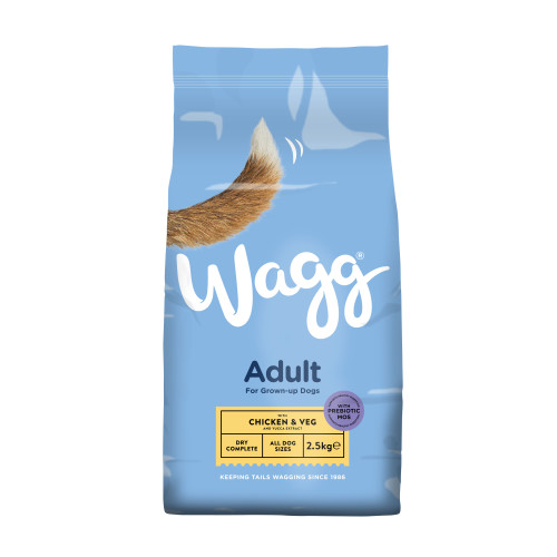 Wagg Complete Chicken & Vegetable Adult Dog Food 2.5kg