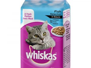 Adult Fish Selection in Gravy Pouches Whiskas Wet Cat Food