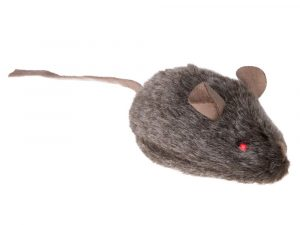 Wild Mouse Cat Toy with Sounds and LED Eyes