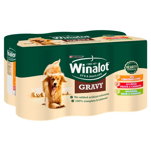 Winalot Casserole Selections In Gravy Wet Adult Dog Food 400g x 24
