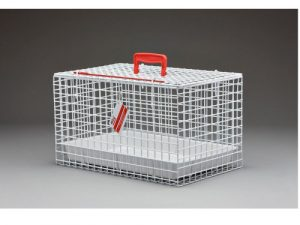 Wire Cat Basket Cat Carrier White
