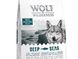 3 x 1kg Wolf of Wilderness Dry Dog Food - 2 + 1 Free!* - Adult Soft