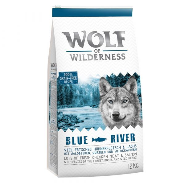 """Wolf of Wilderness Adult """"Blue River"""" Salmon 5kg"""