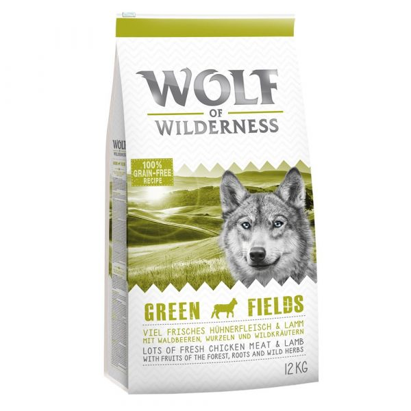 Wolf of Wilderness Adult Lamb Green Fields Dry Dog Food