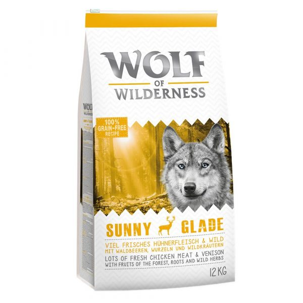 Wolf of Wilderness Adult Venison Dry Dog Food