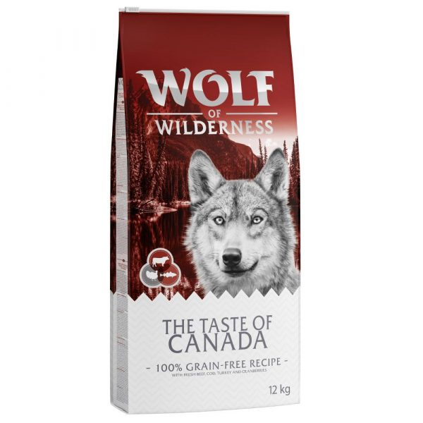 Wolf of Wilderness Beef Taste of Canada Dry Dog Food