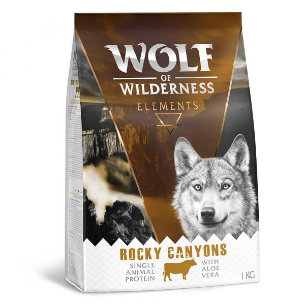 Wolf of Wilderness Elements Lamb Duck Beef Fish Mixed Pack Dry Dog Food
