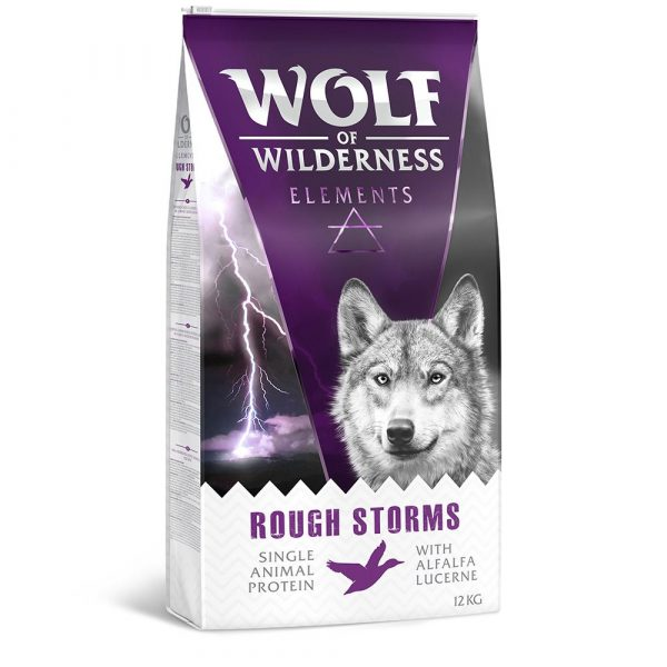 Wolf of Wilderness Rough Storms Duck Dry Dog Food
