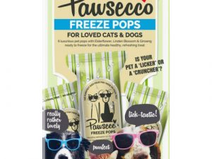 Woof & Brew Pawsecco Freeze Pops for Cats & Dogs 50ml x 6 Freeze Pops