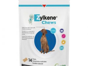 Zylkene Calming Chews for Dogs & Cats Dogs 15 to 60kg - 14 Chews
