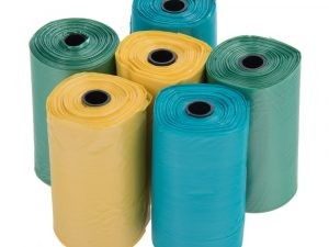 zoolove Poop Bags in 3 Colours 6 rolls with 20 bags