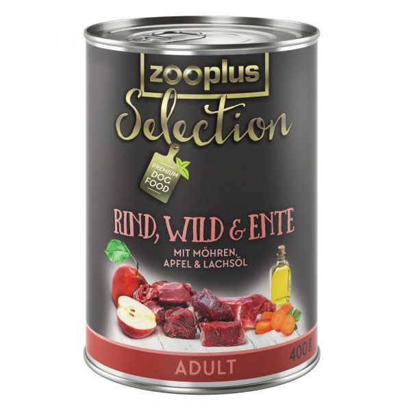zooplus Adult Sensitive Chicken& Rice Selection Wet Dog Food